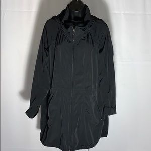 Athleta women's workout/rain hooded jacket size-XL